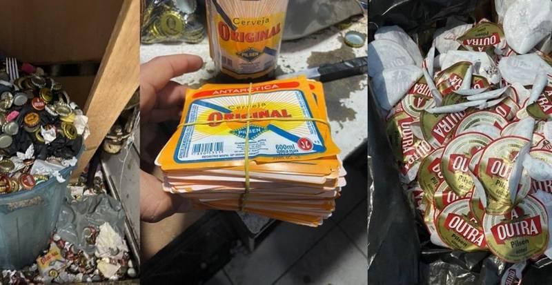 Polícia prende trio por falsificação de cervejas, em SP