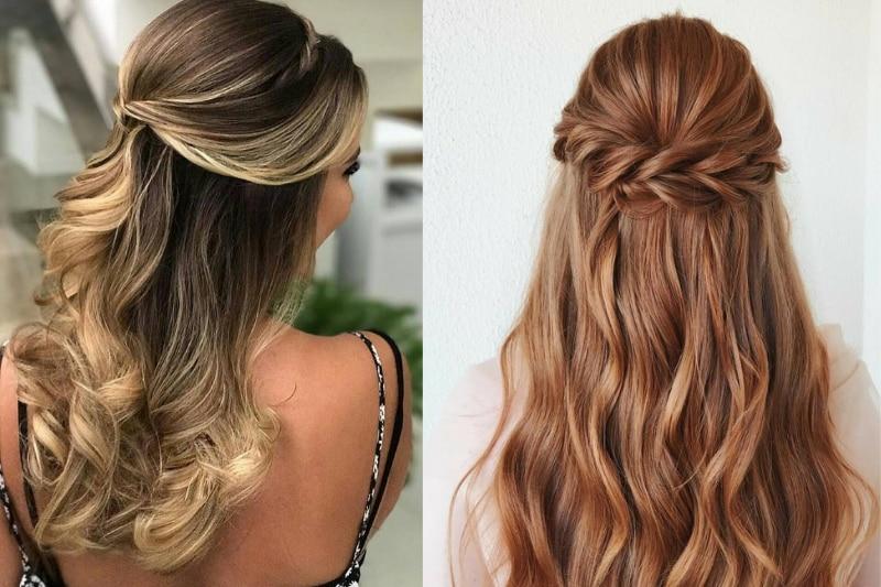 10 penteados fáceis de fazer sozinha se você tem o cabelo liso; com tutorial