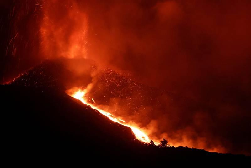 Alerta de explosão é emitido em La Palma