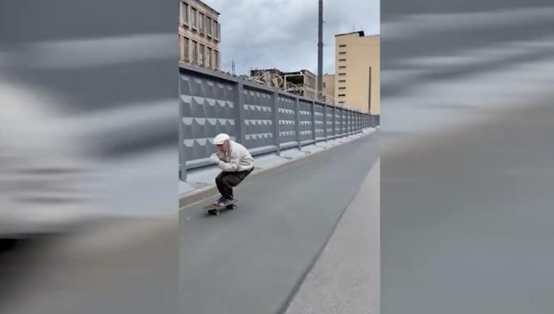 Idoso skate