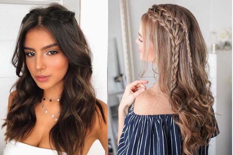 6 dicas de penteados lindos para cabelos lisos longos