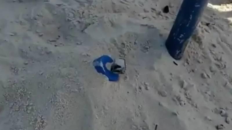 Artefato explosivo é achado na areia de Copacabana