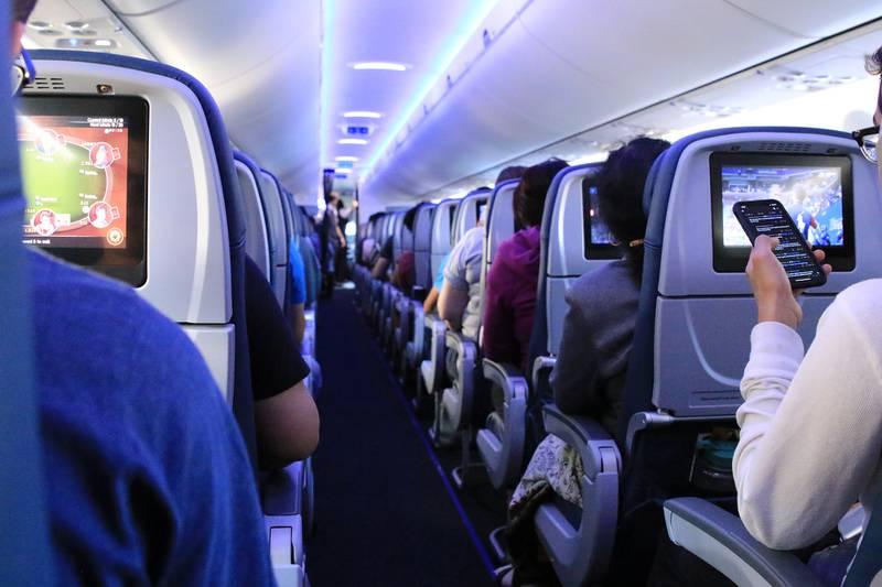 retiradas de um avião